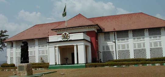 Enugu governor's lodge