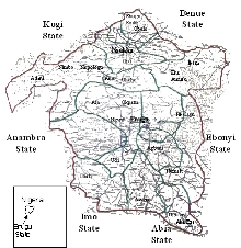 Enugu maps and Enugu Communities